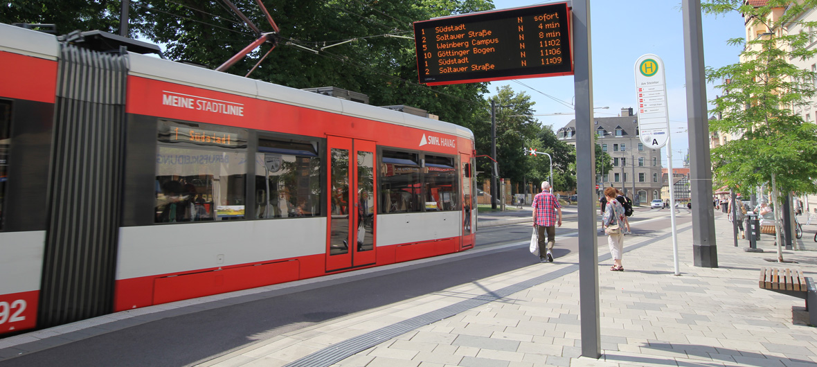 Public Transport In Halle Saale Swh Havag
